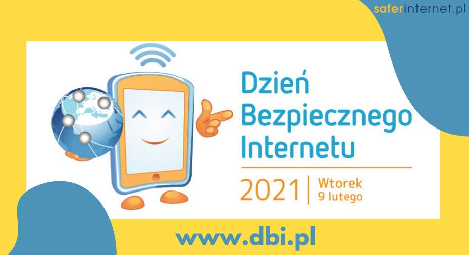 Znalezione obrazy dla zapytania: dzień bezpiecznego internetu 2021